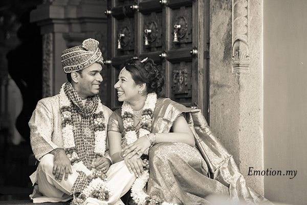 bride-groom-portrait-indian-hindu-ceylonese-wedding-ceremony-malaysia