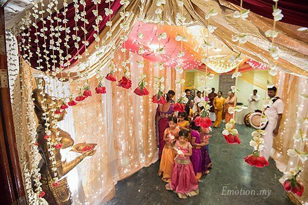 Hindu Telugu Wedding Ceremony At Bangunan Peladang Praveen Megala Wedding Photographer Malaysia