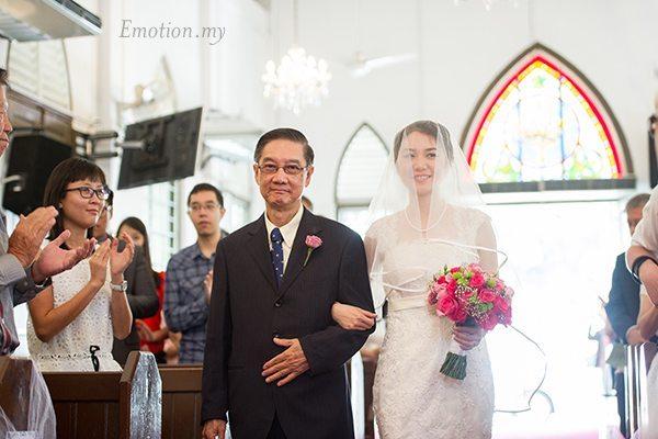 church-wedding-malaysia-processional
